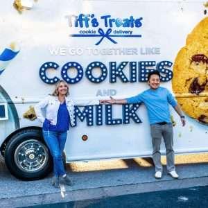 Tiff's Treats unveils first warm cookie food truck